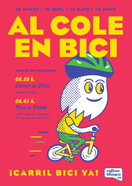 Al cole en bici marzo - junio
