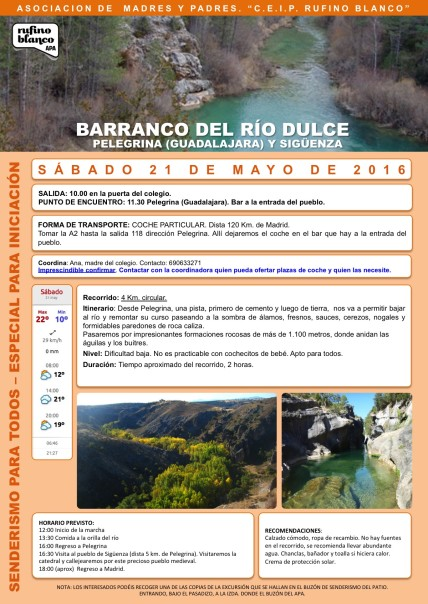 Barranco Rio Dulce (21 Mayo)