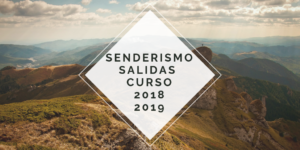 Senderismo curso 2018/2019
