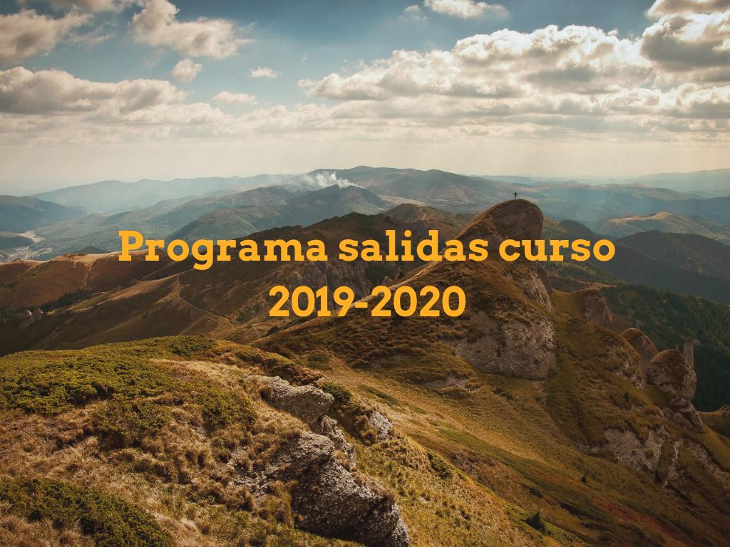 Senderismo curso 2019/2020